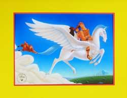 Hercules Disney Store Lithograph image