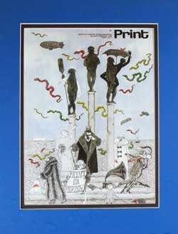 Edward Gorey Magazine Cover image