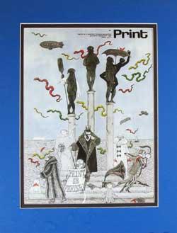 Edward Gorey Magazine Cover image