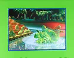 Flubber Disney Store Video Lithograph