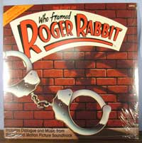 Roger Rabbit Storybook LP image