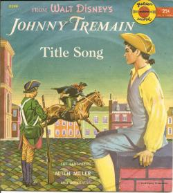 Johnny Tremain 78RPM Golden Record image