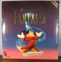 Fantasia CLV Laserdisc image