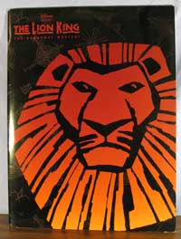 The Lion King on Broadway Program image