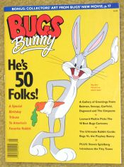 Bugs Bunny 50th Birthday Magazine with Sericel image