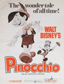 Pinocchio Theater Promo Book