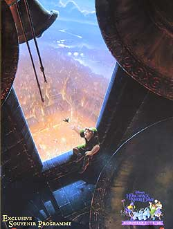 Hunchback of Notre Dame European Tour Programme