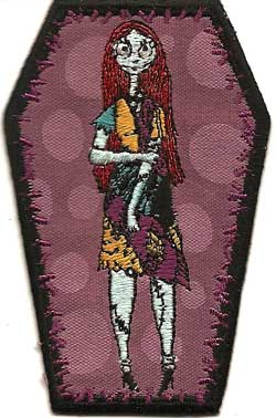 Nightmare Before Christmas Sally Cloth Patch