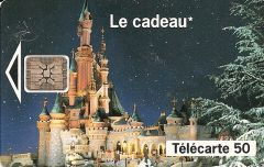 Euro Disneyland Castle Phonecard