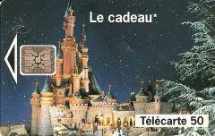 Euro Disneyland Castle Phonecard