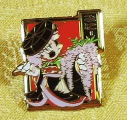 Tokyo Disneyland Kabuki Minnie Pin image