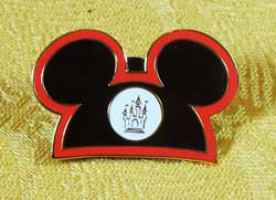 WDW Disney Cast Member  Hat Box Pin