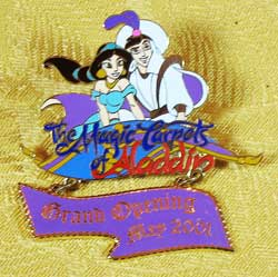 WDW Magic Carpets Of Aladdin Grand Opening LE Pin image