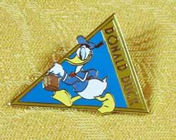 Tokyo Disneyland Donald Duck Bon Voyage Pin image