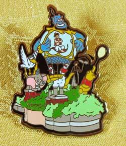 WDW 2003 Share A Dream Come True Parade Pin