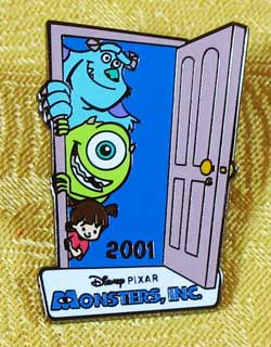 Monsters Inc. 100 Years Of Dreams Disney Store Pin image