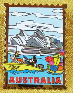 12 Months of Magic Australia Stamp Pin