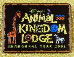 WDW Animal Kingdom Inaugural Year Cast Member Pin