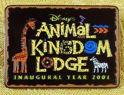 WDW Animal Kingdom Inaugural Year Cast Member Pin image