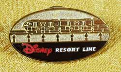 Tokyo Disneyland Disney Resort Line Monorail Pin image