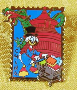 Walt Disney 100th Year Uncle Scrooge Pin image