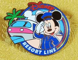 Tokyo Disney Resort Line Mickey Pin image