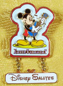WDW Disney Salutes Entertainment Mickey Cast Member Pin image