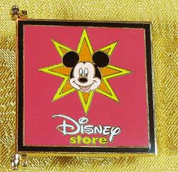 Disney Store Mickey and Friends Storybook Pin