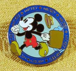 Tokyo Disneyland Bon Voyage Mickey Pin