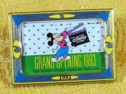 Disney Store Japan 10th Anniversary Mickey Pin