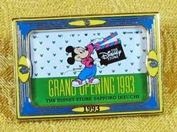Disney Store Japan 10th Anniversary Mickey Pin image