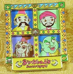 Tokyo DisneySea Sindbad's Seven Voyages Pin image