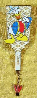 Disney Store Japan Hagoita Donald Dangle Pin image