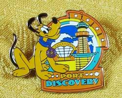 Tokyo DisneySea Port Discovery Pluto Pin image