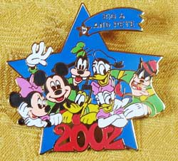 History of Art Fab 6 & Big Pete 2002 Pin