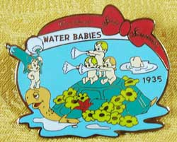 History of Art Water Babies Silly Symphonies Pin