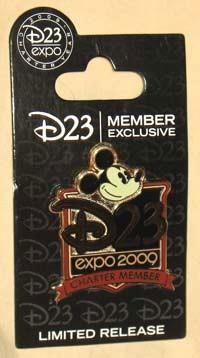 D23 Member Charter Year Logo Pin