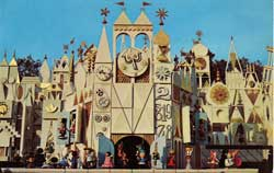 Disneyland Small World Postcard