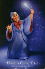 WDCC Fairy Godmother Postcard image