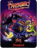 Disneyland Fantasmic! Postcard image