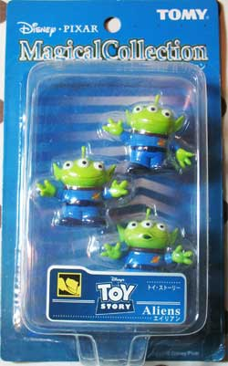 Toy Story Magical Collection Alien Figures - JAPAN