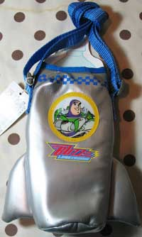 Buzz Lightyear Water Bottle Caddy - JAPAN
