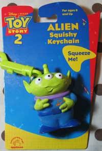 Toy Story 2 Alien Figural Keyring image