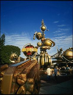 Tomorrowland Entrance in Disneyland