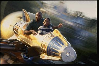 Astro Orbitor in Disneyland