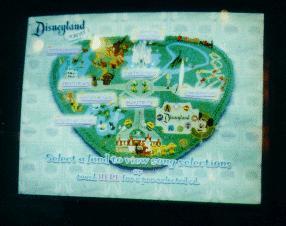 Disneyland CD Maker Screen