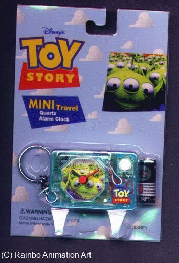 Toy Story Alien Travel Alarm Clock - JAPAN image