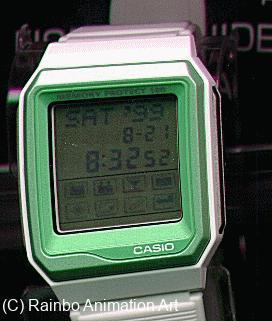 Casio Toy Story Alien Databank Touch Screen Watch