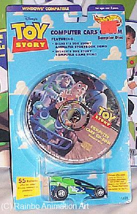 Hot Wheels Computer Cars w/CD-ROM image