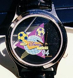1st Disney Cup Soccer Watch